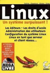 Linux, Un Systeme Surpuissant - Couverture - Format classique