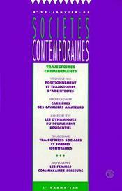Trajectoires Cheminements - Couverture - Format classique