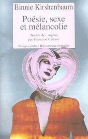 Poesie, Sexe Et Melancolie - Intérieur - Format classique