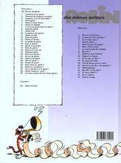 La Guerre Des Genies - 4ème de couverture - Format classique