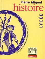 Histoire Lycee - Intérieur - Format classique