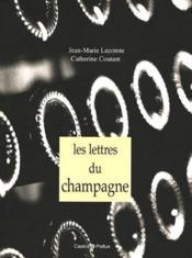 Lettres du champagne - Couverture - Format classique