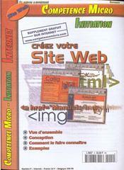 Competence Micro ; Construisez Votre Site Web - Intérieur - Format classique