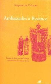 Ambassades a byzance - Intérieur - Format classique