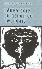 Généalogie du génocide rwandais - Intérieur - Format classique