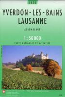 Yverdon-Les-Bains Lausanne - Couverture - Format classique