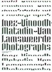 Inez Van Lamsweerde & Vinoodh Matadin Photographs /Anglais - Couverture - Format classique
