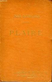 Plaire. Collection De Bibliotheque N° 9. - Couverture - Format classique