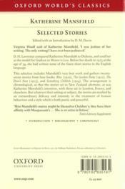 Selected stories - 4ème de couverture - Format classique