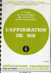 L'Afformation De Soi - Couverture - Format classique