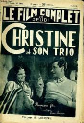 Le Film Complet Du Jeudi N° 1860 - 15e Annee - Christine Et Son Trio - Couverture - Format classique