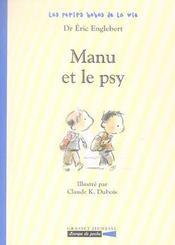 Manu et le psy - Intérieur - Format classique