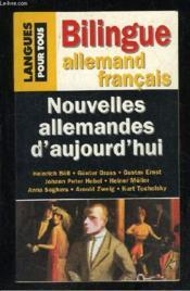 Nouvelles Allemandes D'Aujourd Hui - Couverture - Format classique
