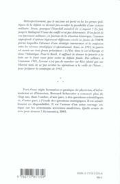 Les erreurs strategiques du iiie reich pendant la deuxieme guerre mondiale - 4ème de couverture - Format classique