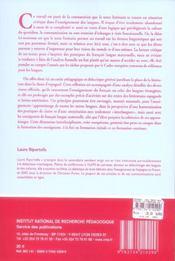 Le texte littéraire en classe d'espagnol - 4ème de couverture - Format classique