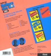 Guide Des Meilleur Sites Web ; Edition 2003 - 4ème de couverture - Format classique