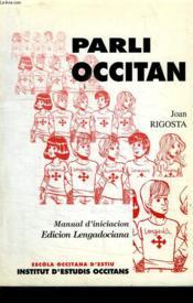 Parli occitan - Couverture - Format classique