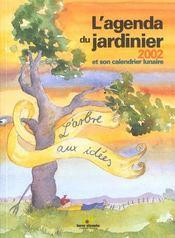 Agenda du jardinier 2002 (l') - Intérieur - Format classique