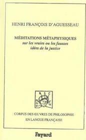 Meditations metaphysiques sur les vraies ou les fausses idees de la justice, 1759 - Intérieur - Format classique