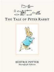 The tale of Peter Rabbit - Couverture - Format classique