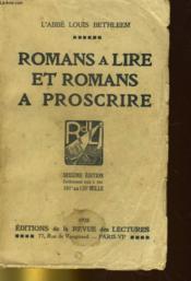 Romans A Lire Et Romans A Proscrire - Couverture - Format classique