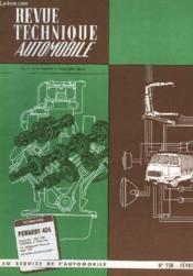 Revue Technique Automobile - N°238 - Couverture - Format classique