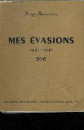 Mes Evasions 1941-1942 - Couverture - Format classique
