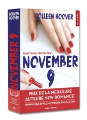 November 9 - Couverture - Format classique