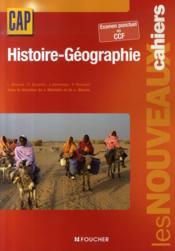 Les Nouveaux Cahiers ; Histoire-Géographie ; Cap ; Livre Pochette - Couverture - Format classique