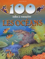 100 Infos A Connaitre ; Les Océans - Intérieur - Format classique