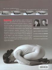 Yoga maitriser postures base - 4ème de couverture - Format classique