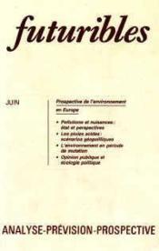 Futuribles N.89 Juin 1985 - Couverture - Format classique