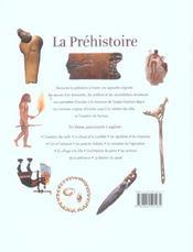 Prehistoire - 4ème de couverture - Format classique