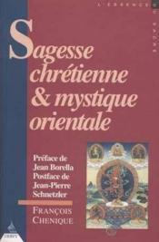 Sagesse Chretienne Et Mystique Orientale - Couverture - Format classique