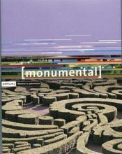 MONUMENTAL ; dossier jardins historiques (édition 2001) - Couverture - Format classique