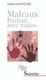 Malraux portrait avec mains - Intérieur - Format classique