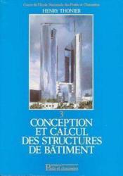 Conception & Calcul Structures Bat T3 - Couverture - Format classique