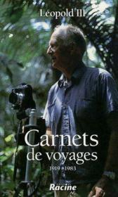 Carnets de voyage ; 1919-1983 - Couverture - Format classique