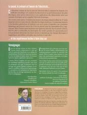 Sur la route de l'électricité t.2 ; les piles électriques et l'électricité dynamique - 4ème de couverture - Format classique