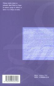 Spinoza - 4ème de couverture - Format classique