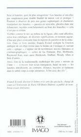 L'Erotique Des Lunettes - 4ème de couverture - Format classique