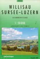 Willisau, Sursee-Luzern ; 5022 - Couverture - Format classique