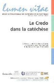 Le credo dans la catéchèse - Couverture - Format classique