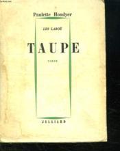 La Taupe. Les Laboe. - Couverture - Format classique
