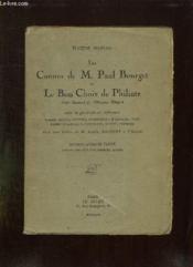 Les Cannes De M Paul Bourget Et Le Bon Choix De Philinte Suivi De Prtraits En References. - Couverture - Format classique
