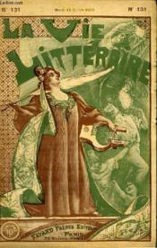 Noblesse Oblige. La Vie Litteraire. - Couverture - Format classique