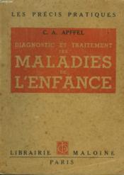 Diagnostic Et Traitement Des Maladies De Lenfance - Couverture - Format classique