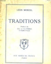 Traditions - Couverture - Format classique