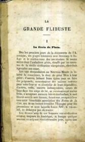 La Grande Flibuste. - Couverture - Format classique