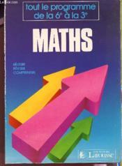 Maths - Couverture - Format classique